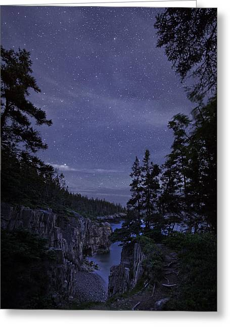 Stars Over Raven's Roost Greeting Card
