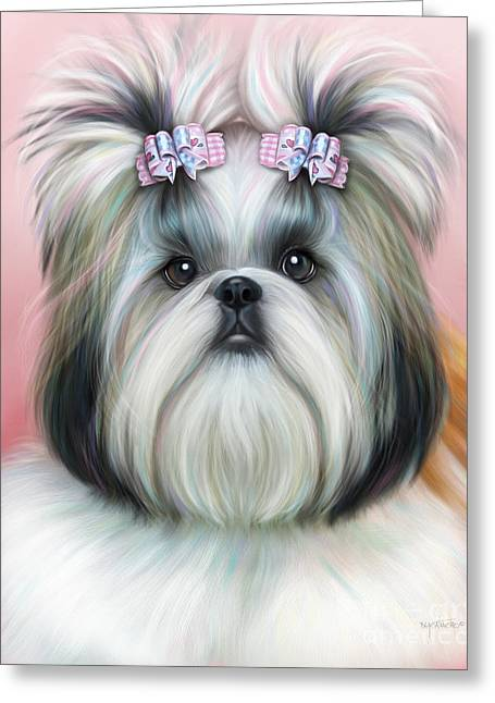 Stassi The Tzu Greeting Card