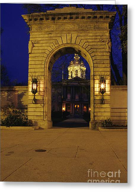 State Capitol Building - Concord New Hampshire Usa Greeting Card