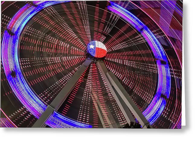 State Fair Of Texas Ferris Wheel Greeting Card