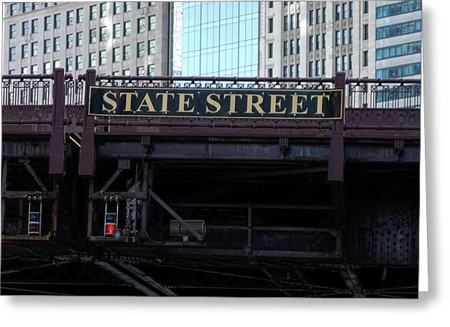 State Street Bridge - Chicago Greeting Card