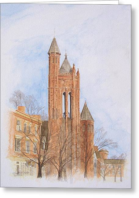 State Street Church Greeting Card