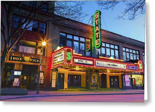 State Theatre - Ithaca Ny Greeting Card