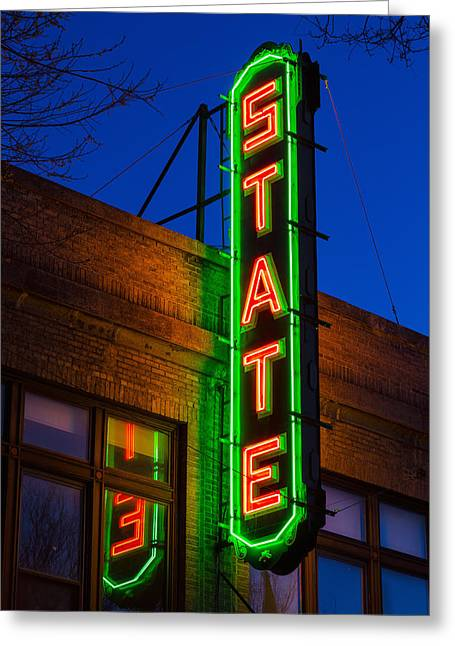 State Theatre - Ithaca Greeting Card