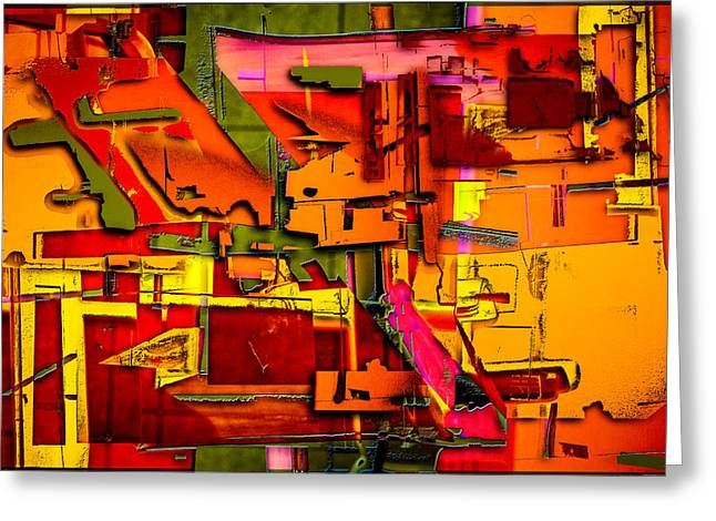 Industrial Autumn Greeting Card by Don Gradner