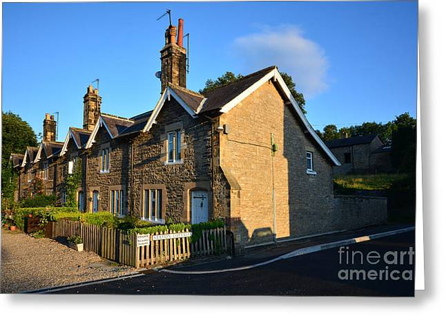 Station Cottages, Richmond Greeting Card