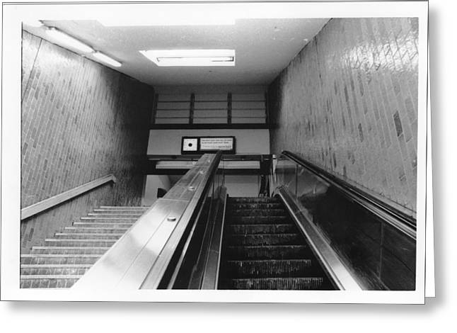 Station Stop  Greeting Card