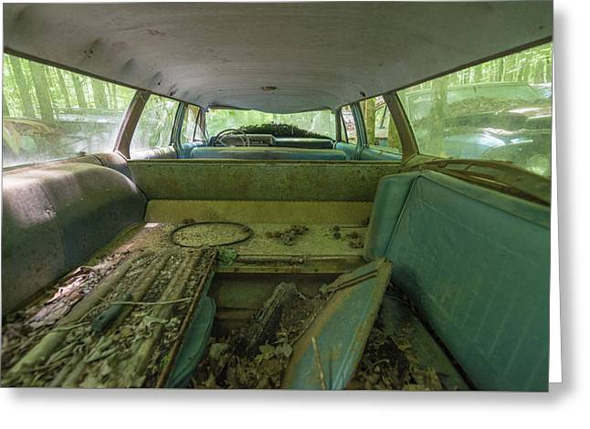 Station Wagon In Color Greeting Card