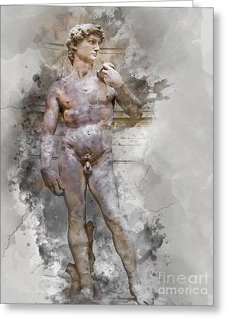Statue Of David Greeting Card