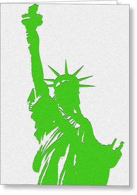 Statue Of Liberty No. 9-1 Greeting Card