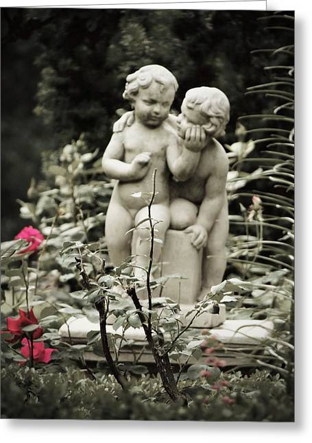 Statue Of Love Greeting Card