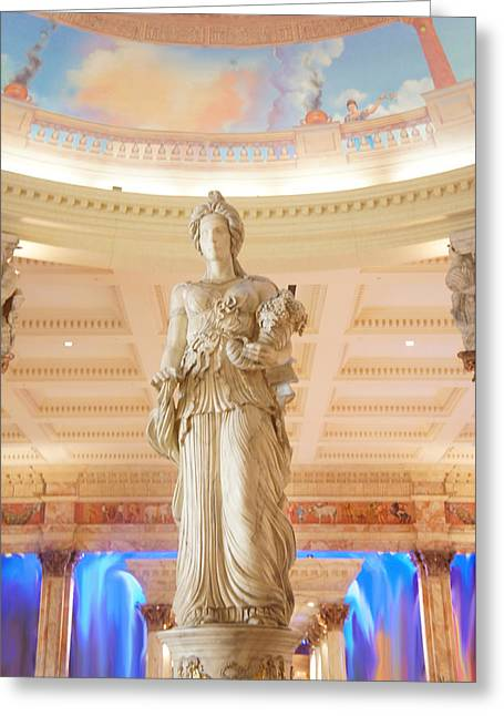 Statue Greeting Card by Art Spectrum