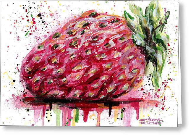 Stawberry 1 Greeting Card