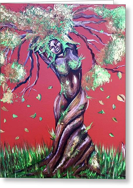 Stay Rooted- Stay Grounded Greeting Card