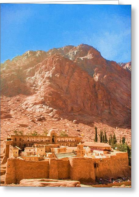 St.catherine's Monastery 3 Greeting Card