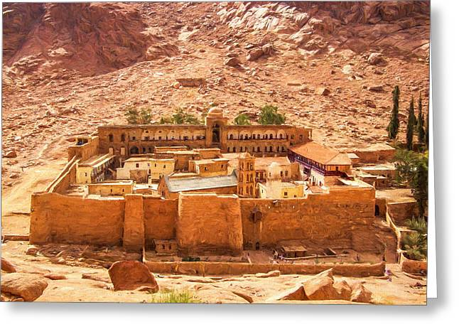 St.catherine's Monastery Greeting Card