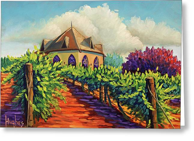 Ste Chappelle Winery Greeting Card
