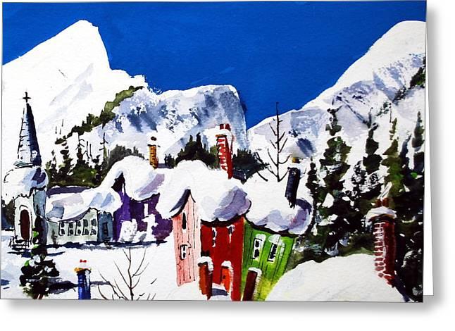 Ste.adele Quebec Greeting Card
