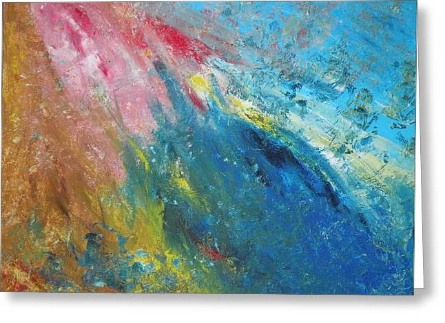 Inner World Paintings Greeting Cards - Steadfast Greeting Card by Christine Martin