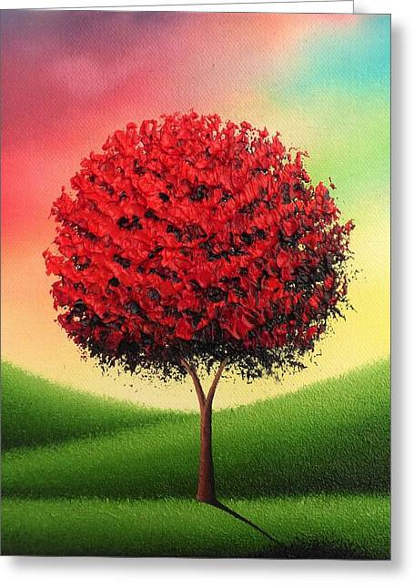 Steady The Day Greeting Card by Rachel Bingaman