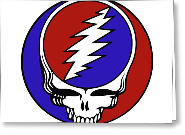 Steal Your Face Greeting Card