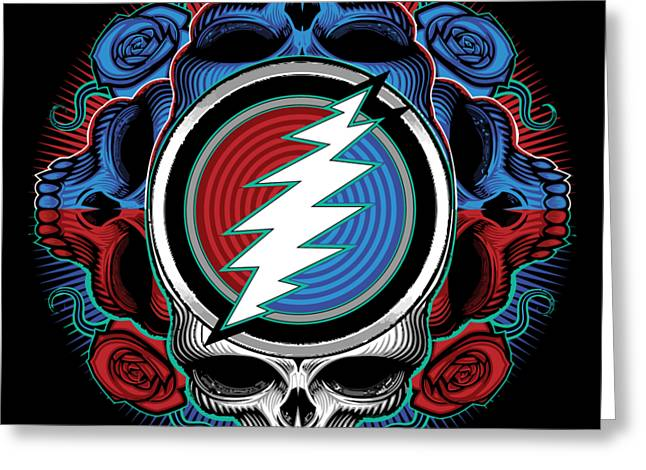 Steal Your Face - Ilustration Greeting Card