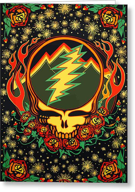 Steal Your Face Special Edition Greeting Card