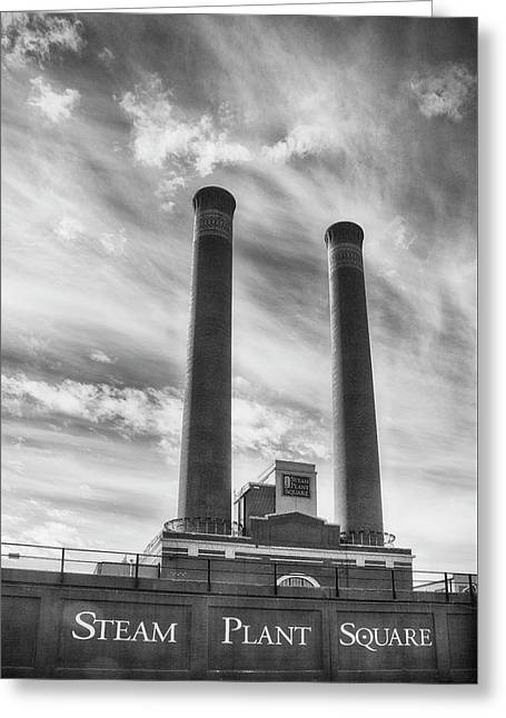 Steam Plant Square Greeting Card