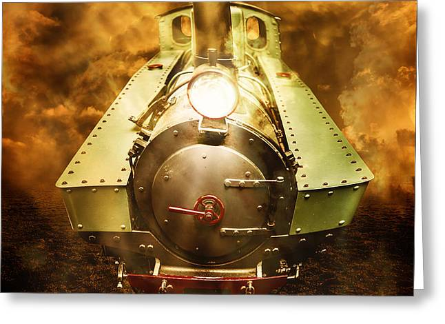Steam Train Stories Greeting Card by Jorgo Photography - Wall Art Gallery
