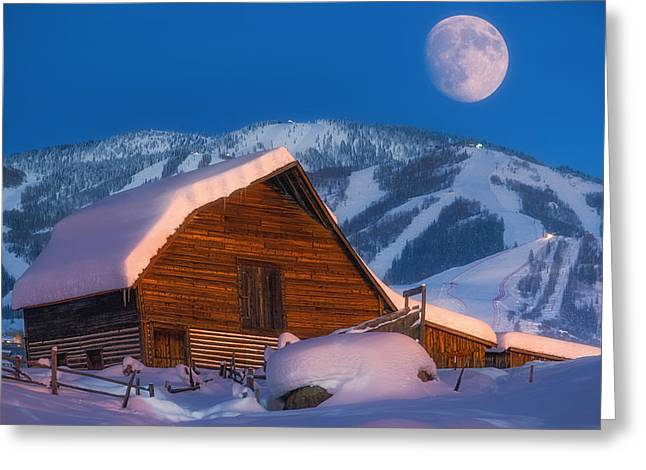 Steamboat Dreams Greeting Card