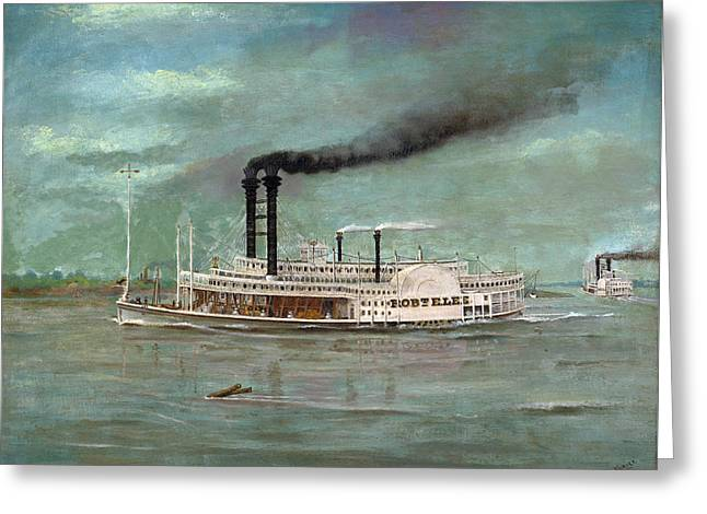 Steamboat Robert E Lee Greeting Card