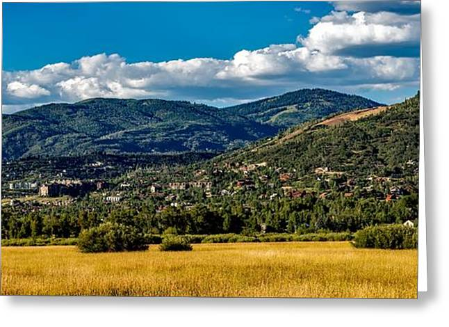 Steamboat Springs Meadow Greeting Card by Mountain Dreams