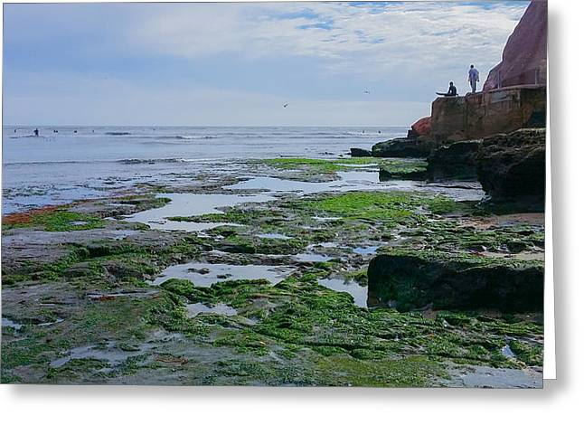 Steamer Lane Santa Cruz Greeting Card