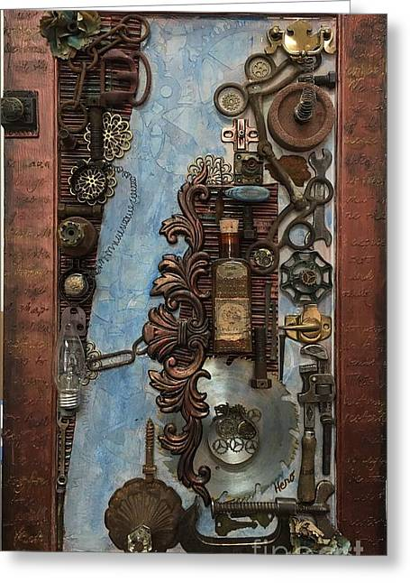 Steampunk 1 Greeting Card