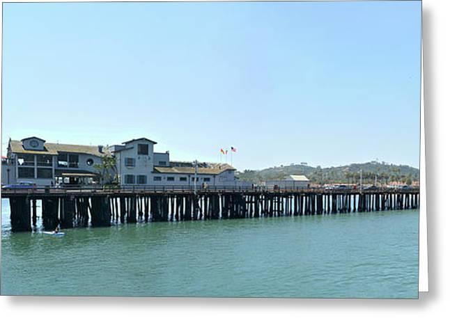 Stearns Wharf 2 Greeting Card