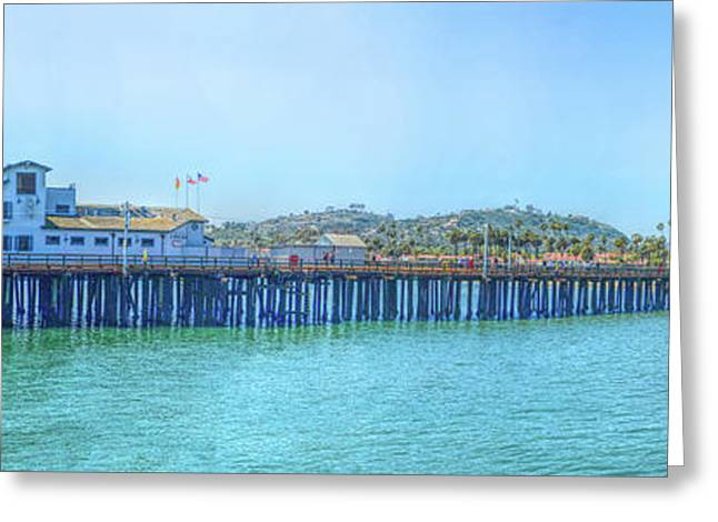 Stearns Wharf Greeting Card