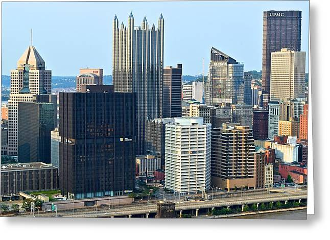 Steel City  Greeting Card by Frozen in Time Fine Art Photography
