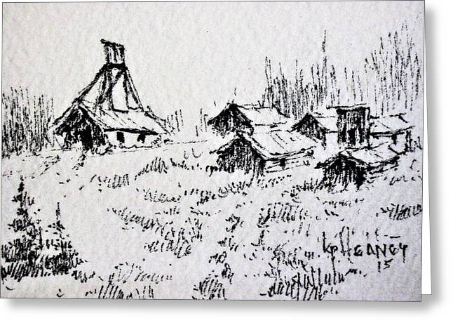 Steel Creek Mine Montana Greeting Card by Kevin Heaney
