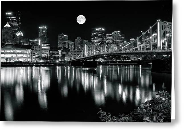 Steel Town Greeting Card by Frozen in Time Fine Art Photography