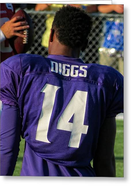Stefon Diggs Greeting Card