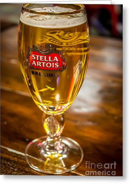 Stella Artois  Greeting Card