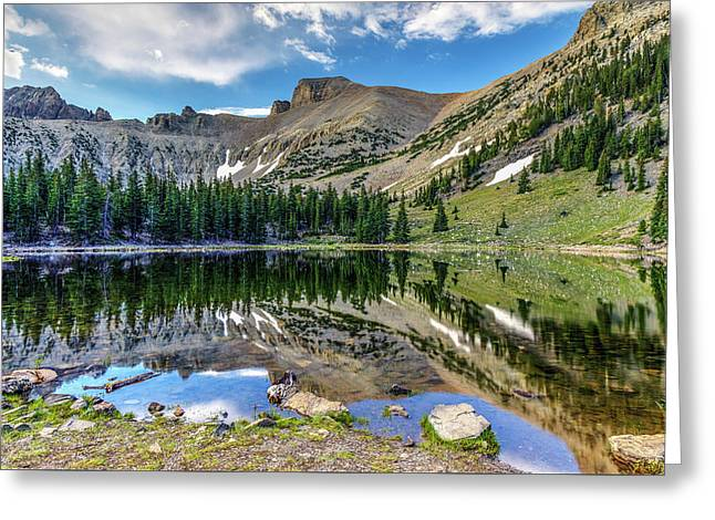 Stella Lake Reflection Greeting Card