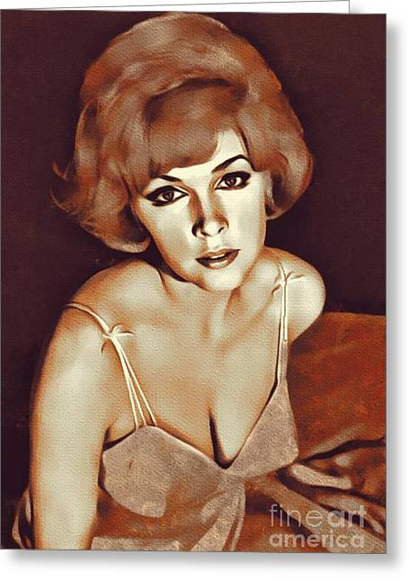 Stella Stevens, Actress Greeting Card
