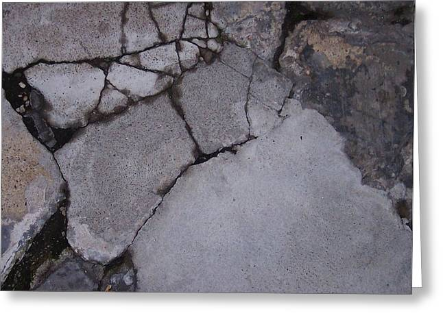 Step On A Crack 3 Greeting Card