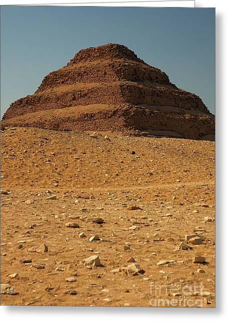 Step Pyramid Greeting Card by Joe  Ng