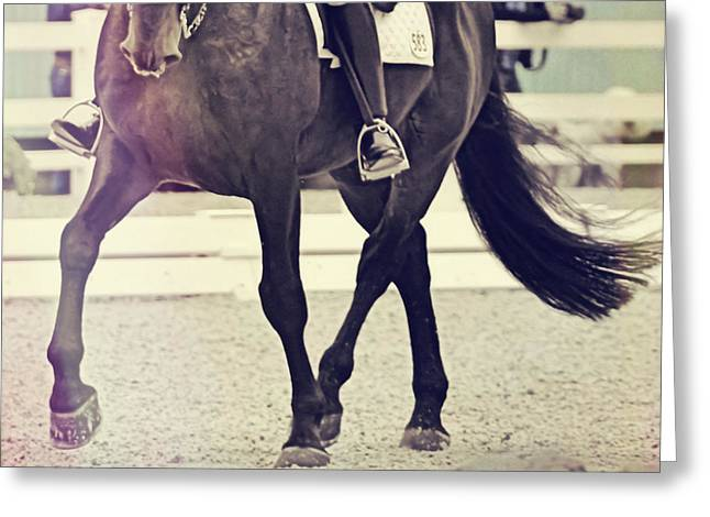 Step Up And Under Greeting Card by Jamart Photography