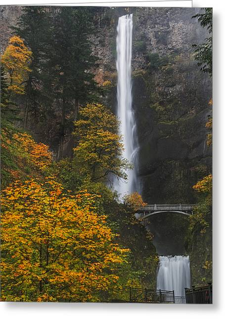 Step Up To Multnomah Greeting Card