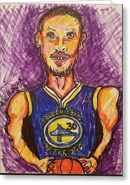 Stephen Curry Greeting Card
