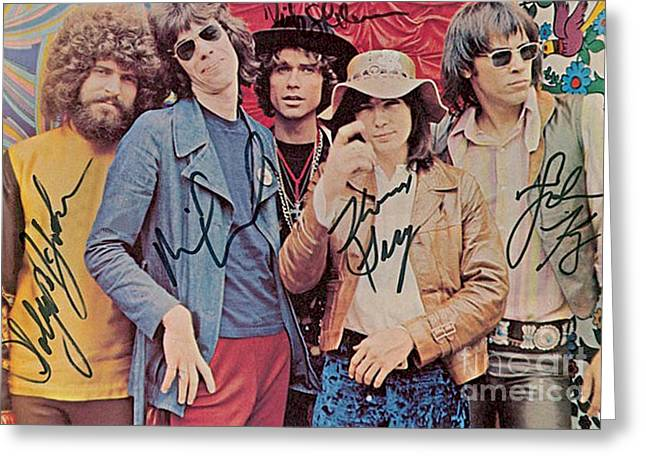 Steppenwolf Autographed Poster Greeting Card by Pd