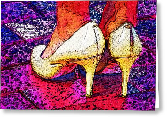 Stepping Out Tonight Greeting Card